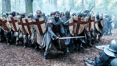 History Channel's Knights Templar drama Knightfall